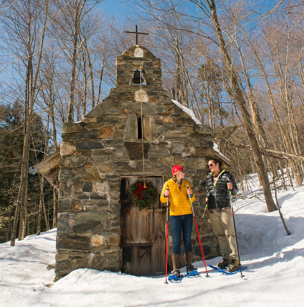 Von Trapp Chapel Hike in Stowe