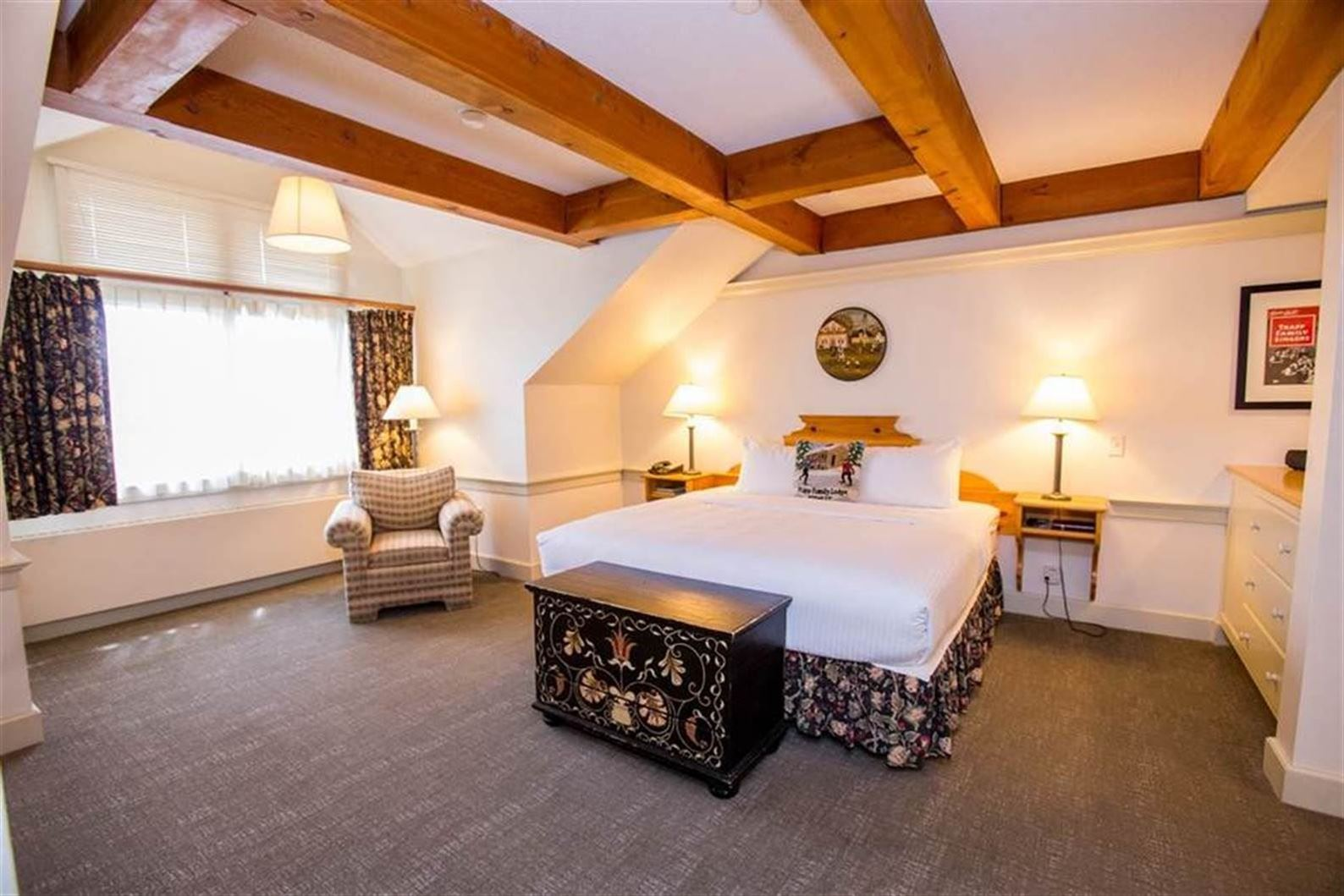 Inside one of our Stowe, Vermont Suite