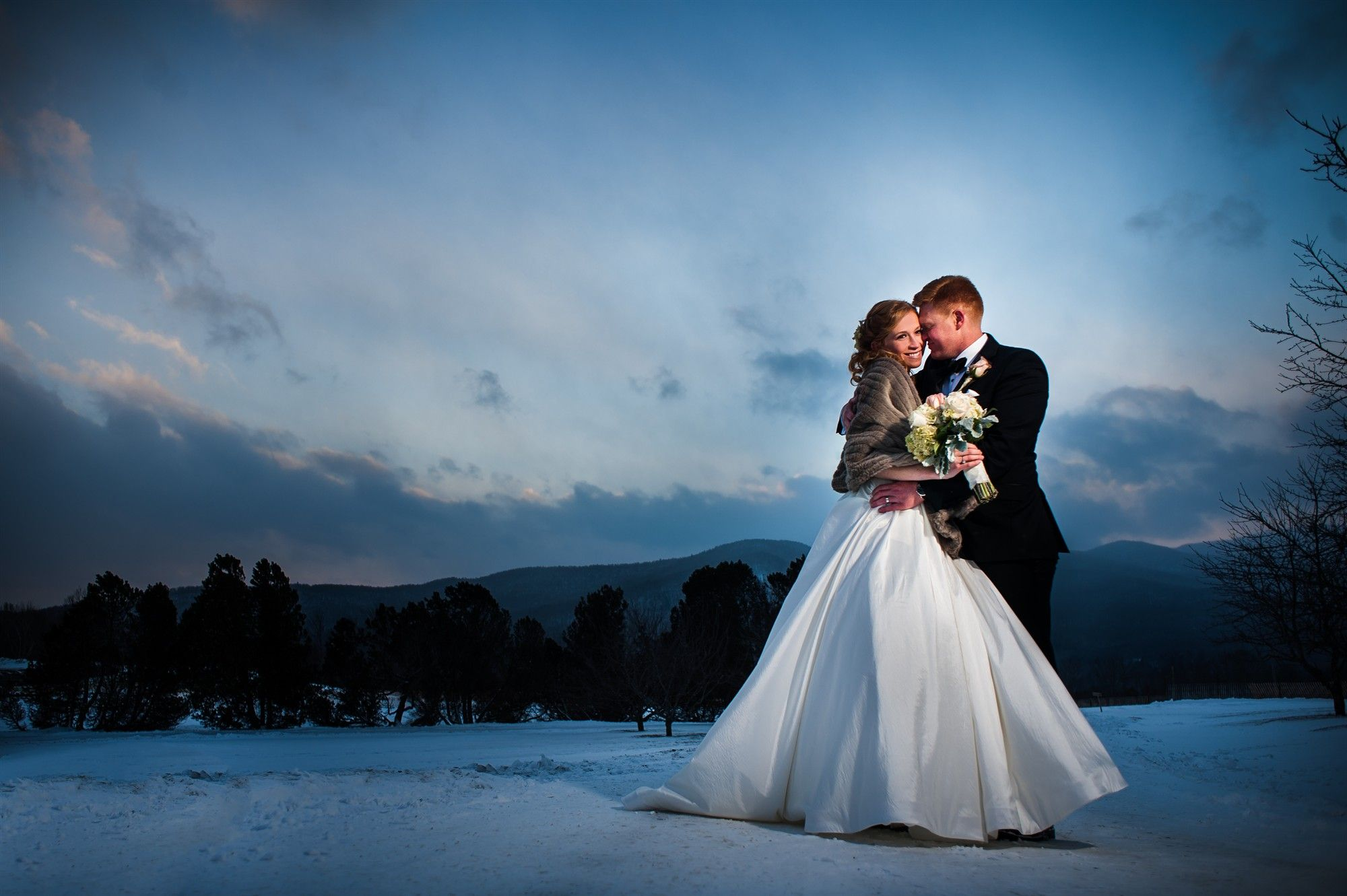 Stowe vt wedding venues mountain weddings in vermont winter weddings at trapp family lodge junglespirit Image collections