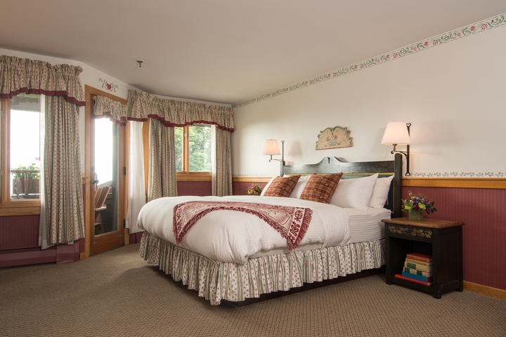 Rooms and Suites at Trapp Family Lodge in Stowe, VT