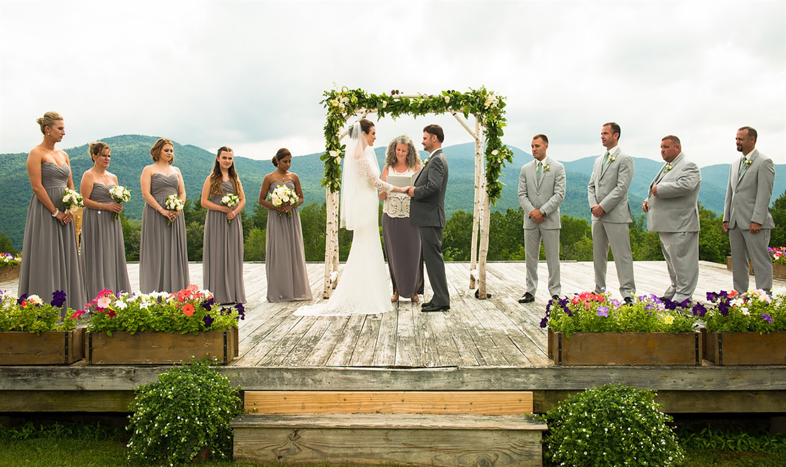 Indoor And Outdoor Ceremony & Reception Space In Stowe, VT