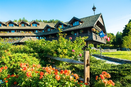 Summer in Stowe VT at Trapp Family Lodge