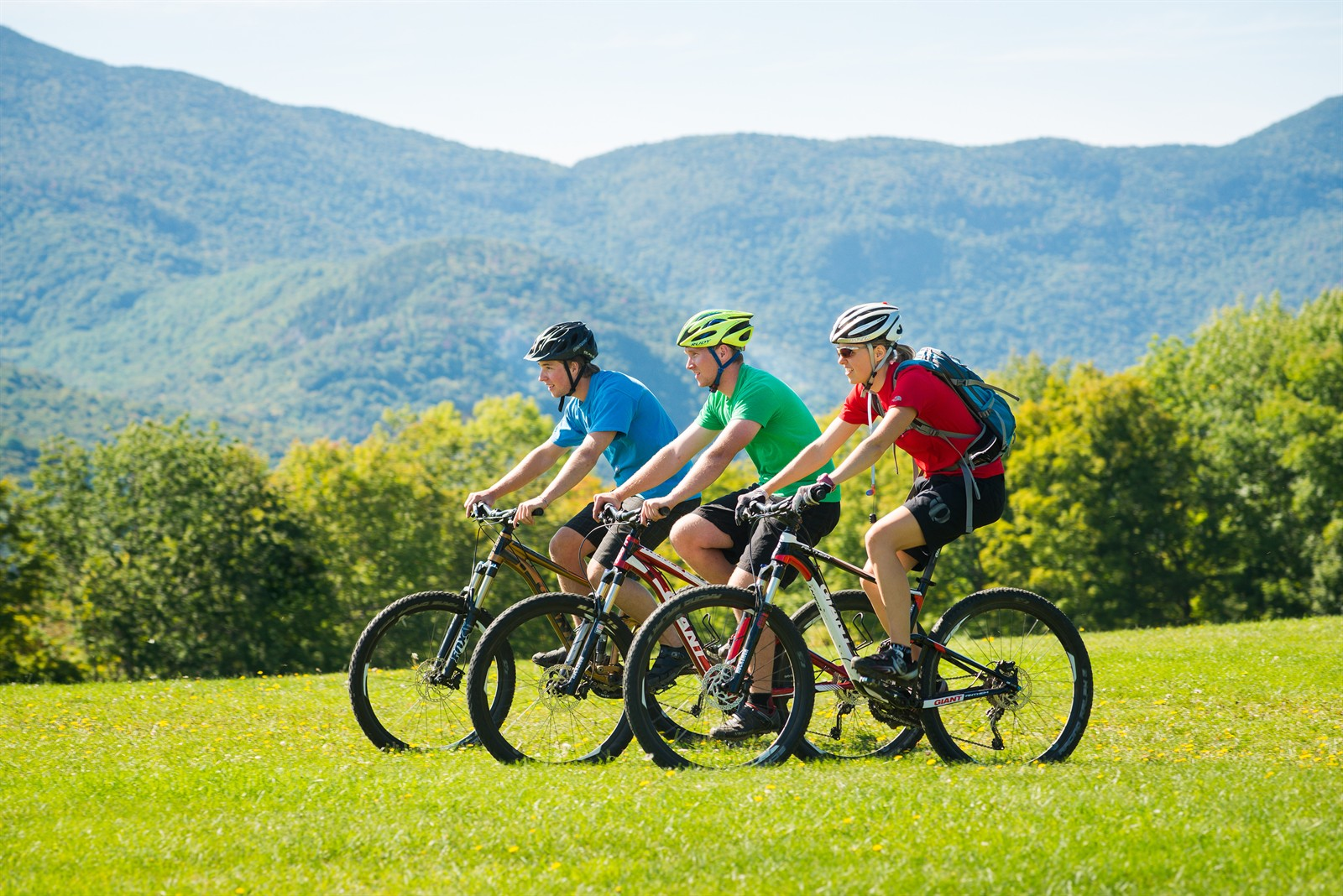 Mountain Biking at Trapp Family Lodge