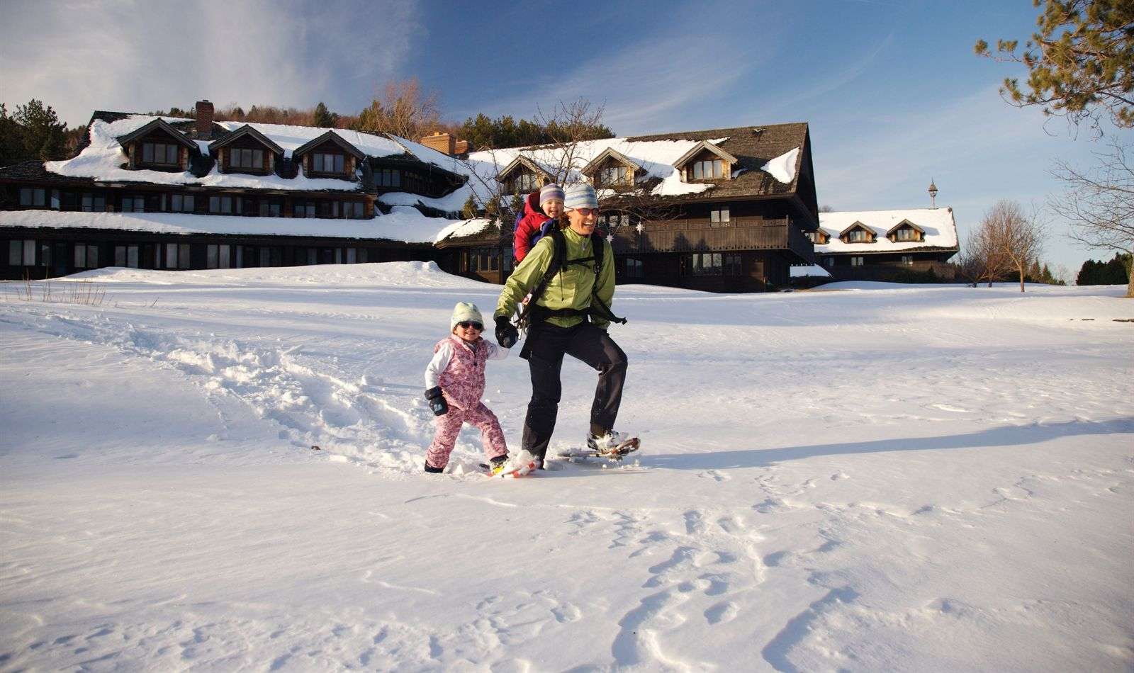Skiing at our Resort in Stowe with our Seasonal Ski Pass