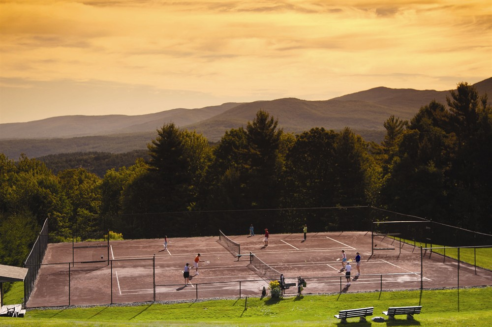 Tennis Courts in Stowe VT