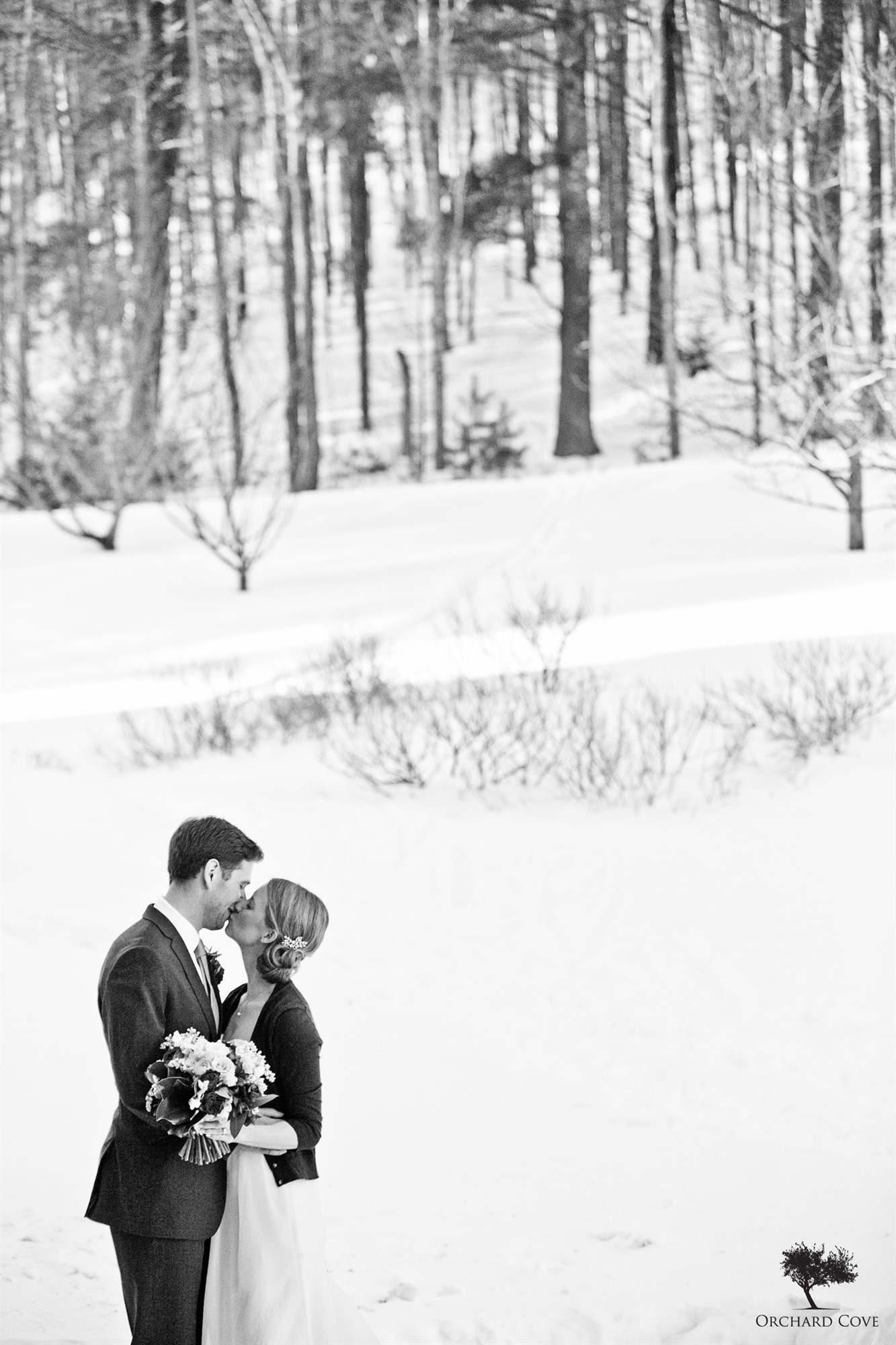 Winter Wedding at Trapp Family Lodge