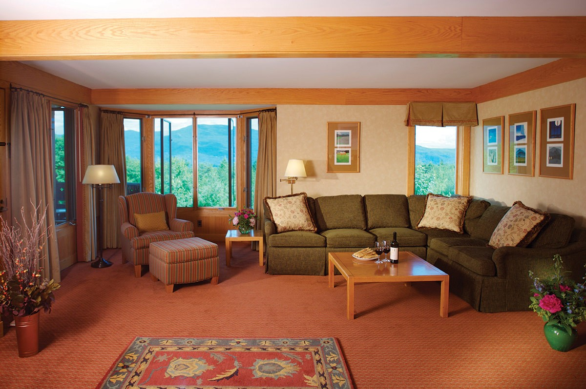 Guest house rentals at Trapp Family Lodge in Stowe, VT