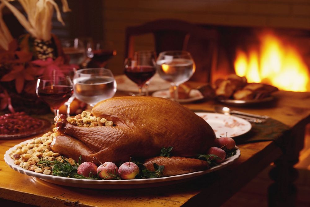 Thanksgiving at the Lodge
